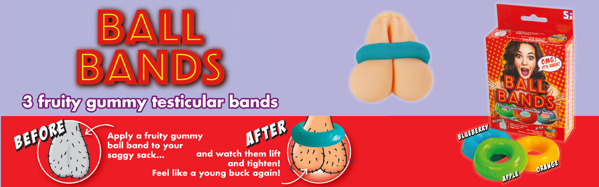 Sexy Jellies - Gummy Ball Bands